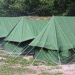 Taborniški šotor za pogumne in drzne